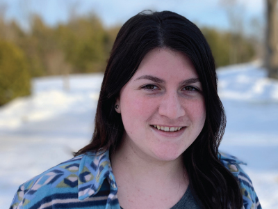 Photo for the news post: Johanna Button is recipient of 2020 Undergraduate Co-op Student of the Year award