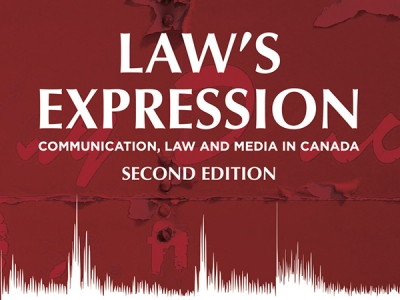 Photo for the news post: Sheryl N. Hamilton and Sandra Robinson | Communication, Law and Media in Canada, 2nd Edition
