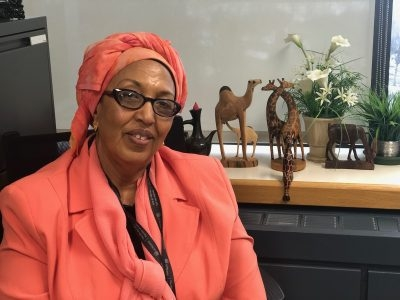 Photo for the news post: Nimo Bokore: Helping Refugees to Feel at Home in Canada
