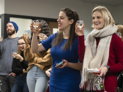 Photo for the news post: Carleton's Journalism program celebrates Capital Current's first term