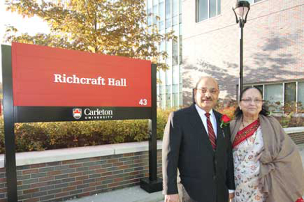 "Read more: River Building renamed ""Richcraft Hall"" in recognition of major donation"
