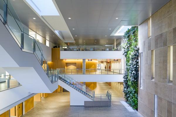 Rendering of the Richcraft Building Atrium