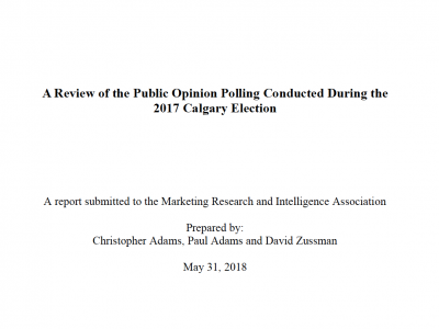 Photo for the news post: Problems with Calgary's Election Polls: Report Released