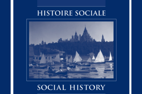 Read more: Boswell study hits cover of Histoire Sociale/Social History