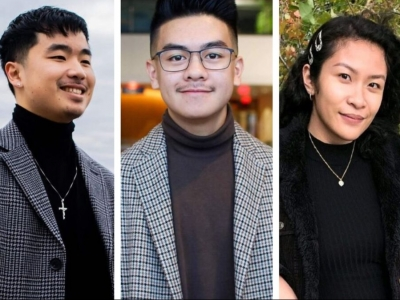 Photo for the news post: Journalism alumni create podcast on what it means to be Asian in today's world