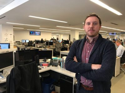 Photo for the news post: Pulitzer Prize-winning team includes Journalism grad