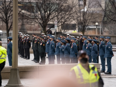 Photo for the news post: Remembrance Day, In Pictures: A Collaborative Photo Essay by Journalism Students