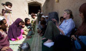 Kathy Gannon in Afghanistan