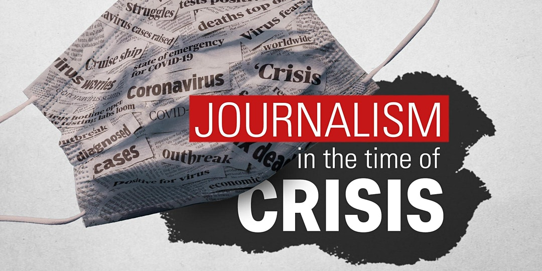 Journalism in the Time of Crisis graphic