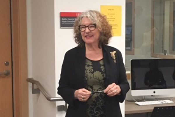 Read more: Prof. Kathryn O'Hara marks her last Midweek class