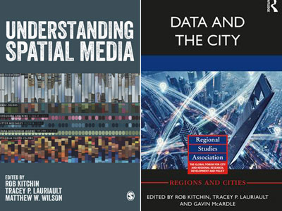 Photo for the news post: Lauriault publishes two co-edited books