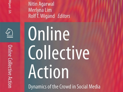 Photo for the news post: Merlyna Lim | Online Collective Action: Dynamics of the Crowd in Social Media
