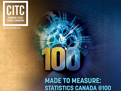 Photo for the news post: Boswell edits essay collection on StatCan's 100th anniversary