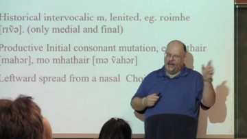 Thumbnail for: Speaker Series: Dr. Andrew Carnie (phonology)