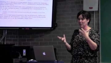 Thumbnail for: Speaker Series: Dr. Jane Hacking