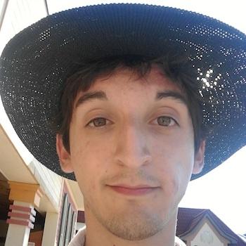 Matt in a hat