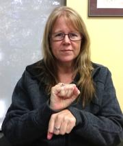 """ASL sign for """"work"""""""