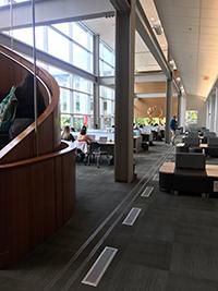 A photo of MacOdrum Library at Carleton University