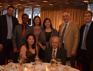 Glen Toner, James Meadowcroft, and students at 2014 SPPA Gala