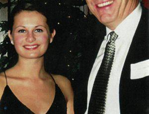 Photo of Glen Toner receiving the first SPPA Teaching Award in 2003