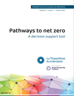 Pathways to Net Zero: a decision support tool - The Transition Accelerator
