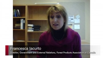 Thumbnail for: Francesca Iacurto, Director, Forest Products Association of Canada