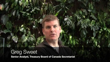 Thumbnail for: Greg Sweet, Senior Analyst, Treasury Board of Canada, Secretariat