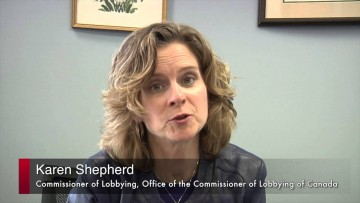 Thumbnail for: Karen Shepherd, Commissioner of Lobbying, Office of the Commissioner of Lobbying of Canada