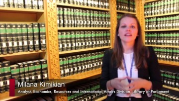 Thumbnail for: Milana Kimikian, Analyst, Library of Parliament