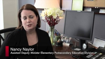 Thumbnail for: Nancy Naylor, Assistant Deputy Minister, Ministry of Training, Colleges and Universities
