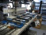 four vice setup machining long part - about us