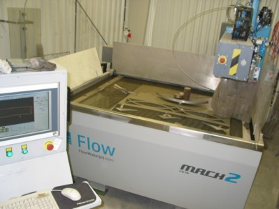 WaterJet Cutting - Science Technology Centre