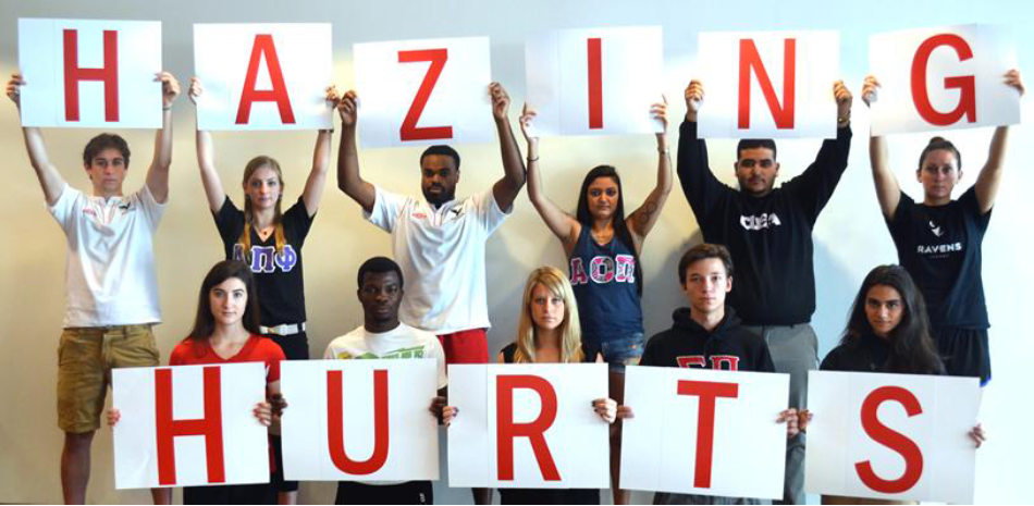 a study on fraternity hazing Schools within fraternities and sororities and athletic teams, as well as in  a  nationwide survey completed by athletes regarding hazing practices and social.