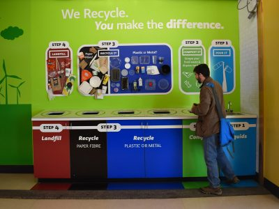 Photo for the news post: Carleton Recycling Project Wins CAUBO Award for Environmental Sustainability