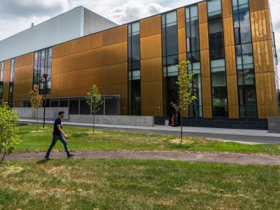 Photo for the news post: Carleton Celebrates Sustainability Partners in New Smart Environments Building