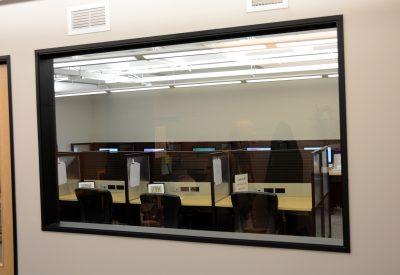 Exam Room One-Way Mirror
