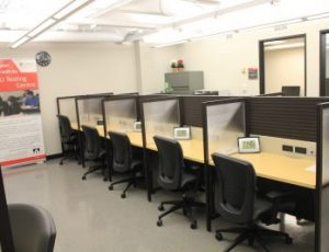 View Quicklink: Well-equipped exam facilities