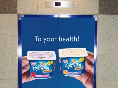Photo for the news post: Elevator Wraps
