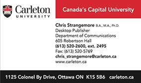 Business cards in ottawa image collections card design and card custom stationery the print shop business cards reheart image collections reheart Gallery