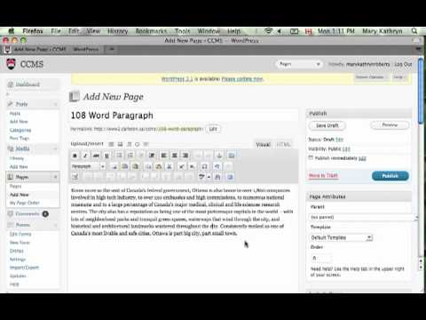 Thumbnail for: Writing for the Web: Paragraphs