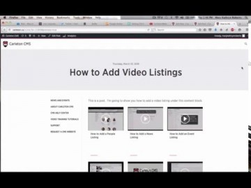 Thumbnail for: How to Add Video Listings