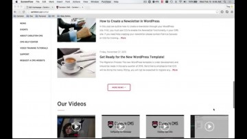 Thumbnail for: New Carleton CMS Homepage Features
