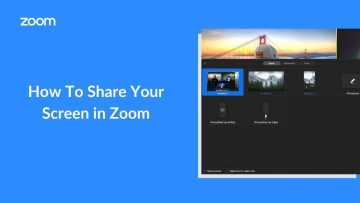 Thumbnail for: How to Share your Screen in Zoom