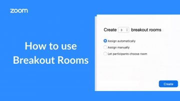 Thumbnail for: How to Use Breakout Rooms in Zoom